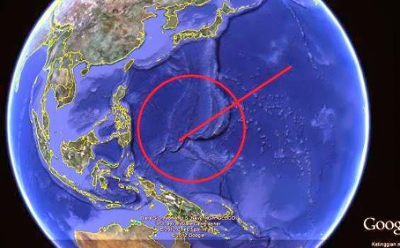 Foto: Jempol Raksasa Menunjuk Indonesia di Google Earth