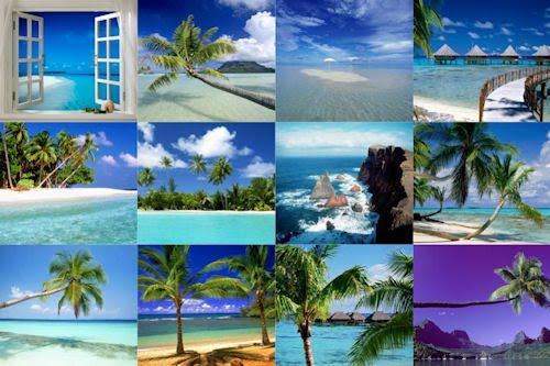Playas paradisiacas parte XVIII (12 Paisajes en en Mar)