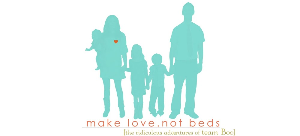 make love not beds