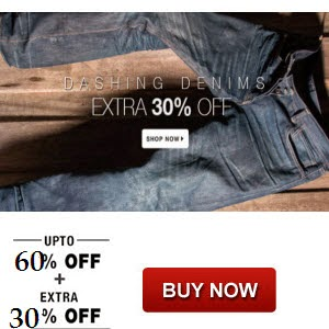 Myntra: Jeans offer upto 60% off + additional upto 38% off