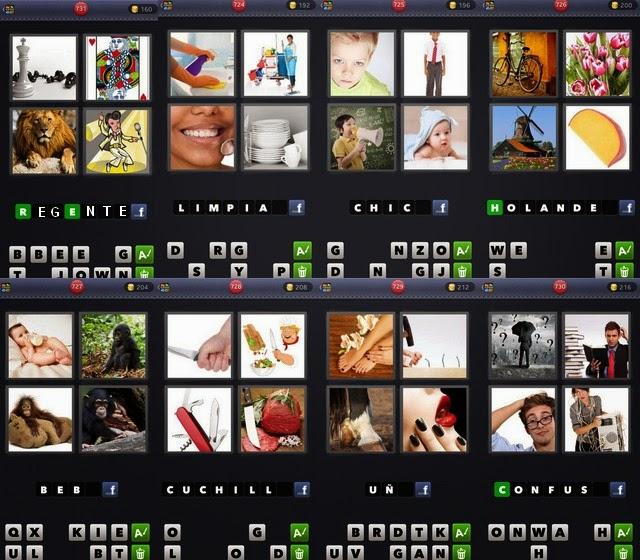 4 Fotos 1 Palabra   Todas las soluciones de 8 letras (1
