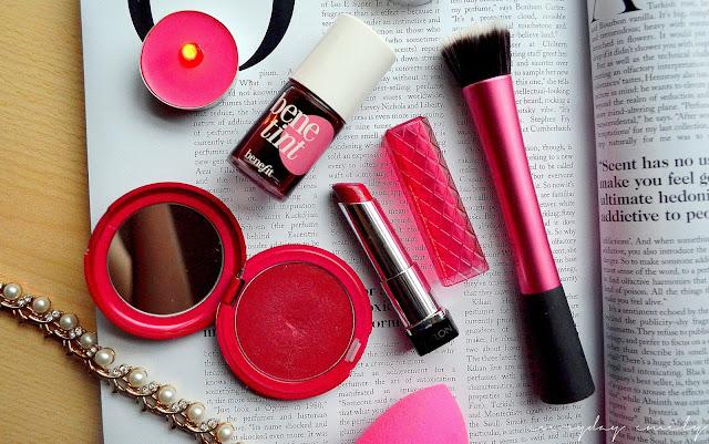 Rosy cream blushers