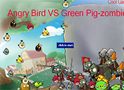 Angry Birds VS Green Pig Zombies