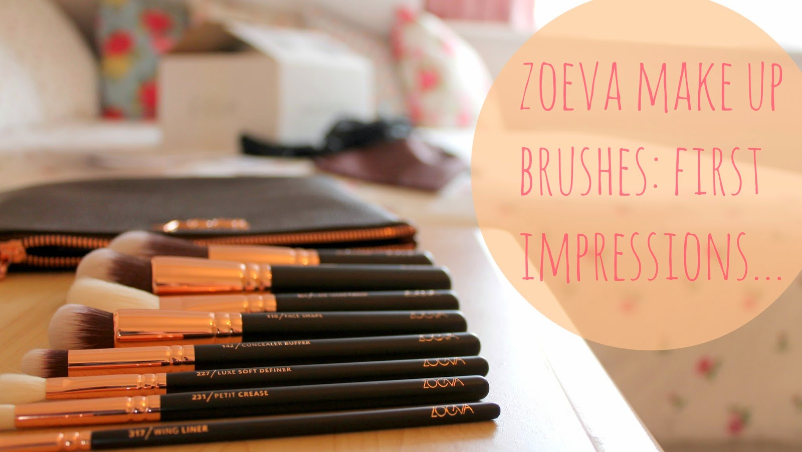 letters of laura zoeva rose gold brushes first impressions during my morning filled essay writing the doorbell rang and i can t say i ve been much more excited for a parcel than i was this morning saddo