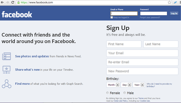 Panduan yang saya berikut untuk cara mengubah nama facebook
