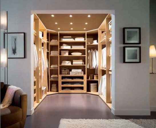 Baño Vestidor Minimalista:El Closet Vestidor Ideal / The Ideal Walk-In-Closet