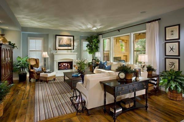 The Living Room Is Really Traditional Floors Classic Cabinets And Drawers Are Made Of Wood Also Fireplace Chair Must Have Looked Very