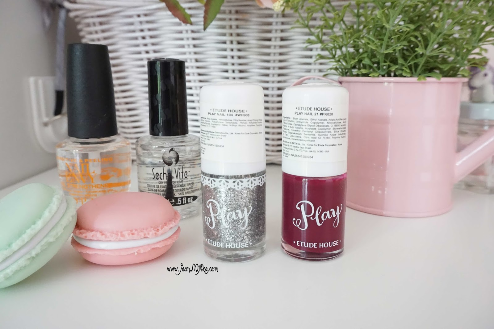 etude house play nail swatch