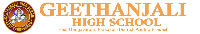 Geethanjali High School , East Gangavaram , Prakasam District