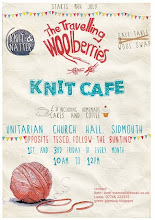 The Travelling Woolberries Knit Cafe  every Friday .