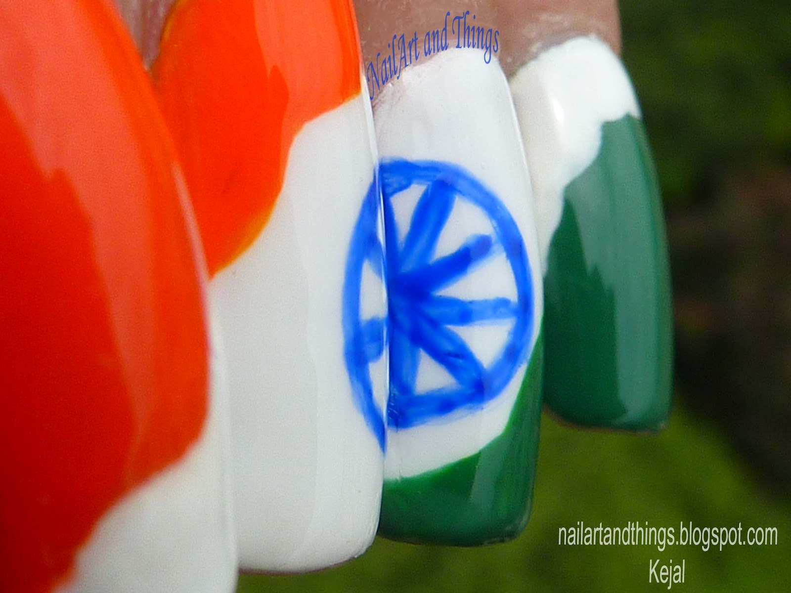 Nailart and things independence day nail art indian independence day nail art indian prinsesfo Image collections