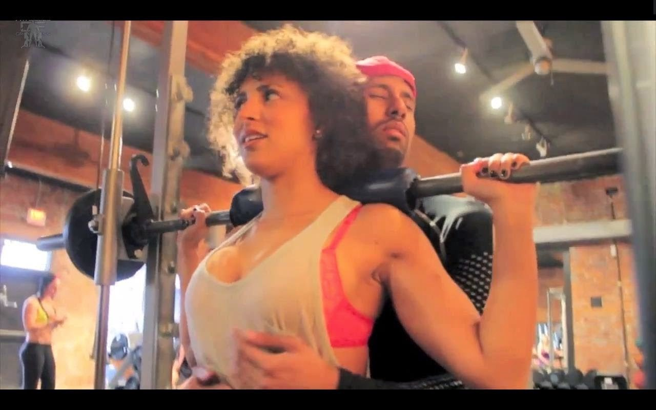 The Beast Frank Medrano And His Swolemate In Crime Antoinette Pacheco Are Back Again This Amazing Motivational Clip