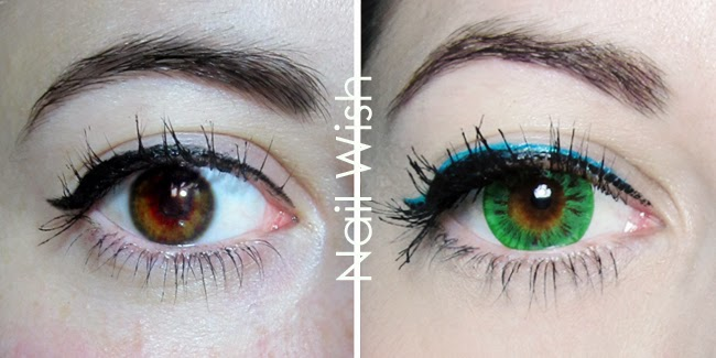 Dolly Eye Starry Eye Green colored contacts