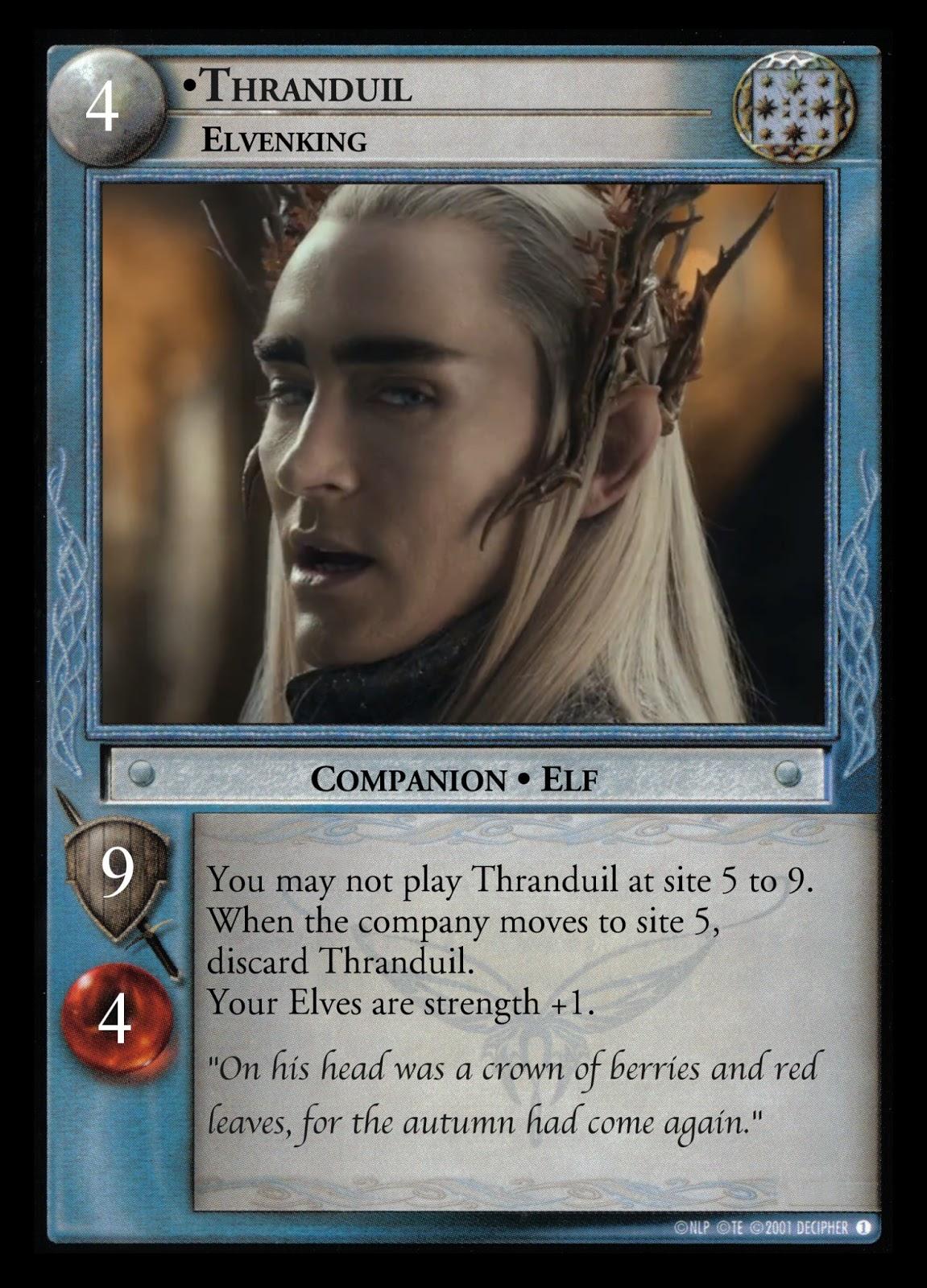 P.O Tolkien y su obra. - Página 8 Thranduil