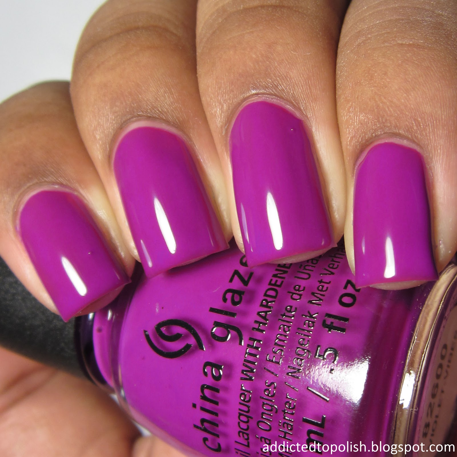 china glaze violet vibes summer 2015 electric nights