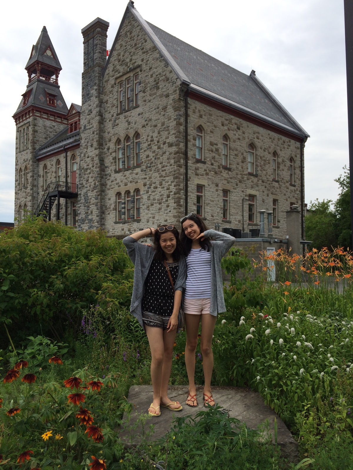 With my sister in Almonte
