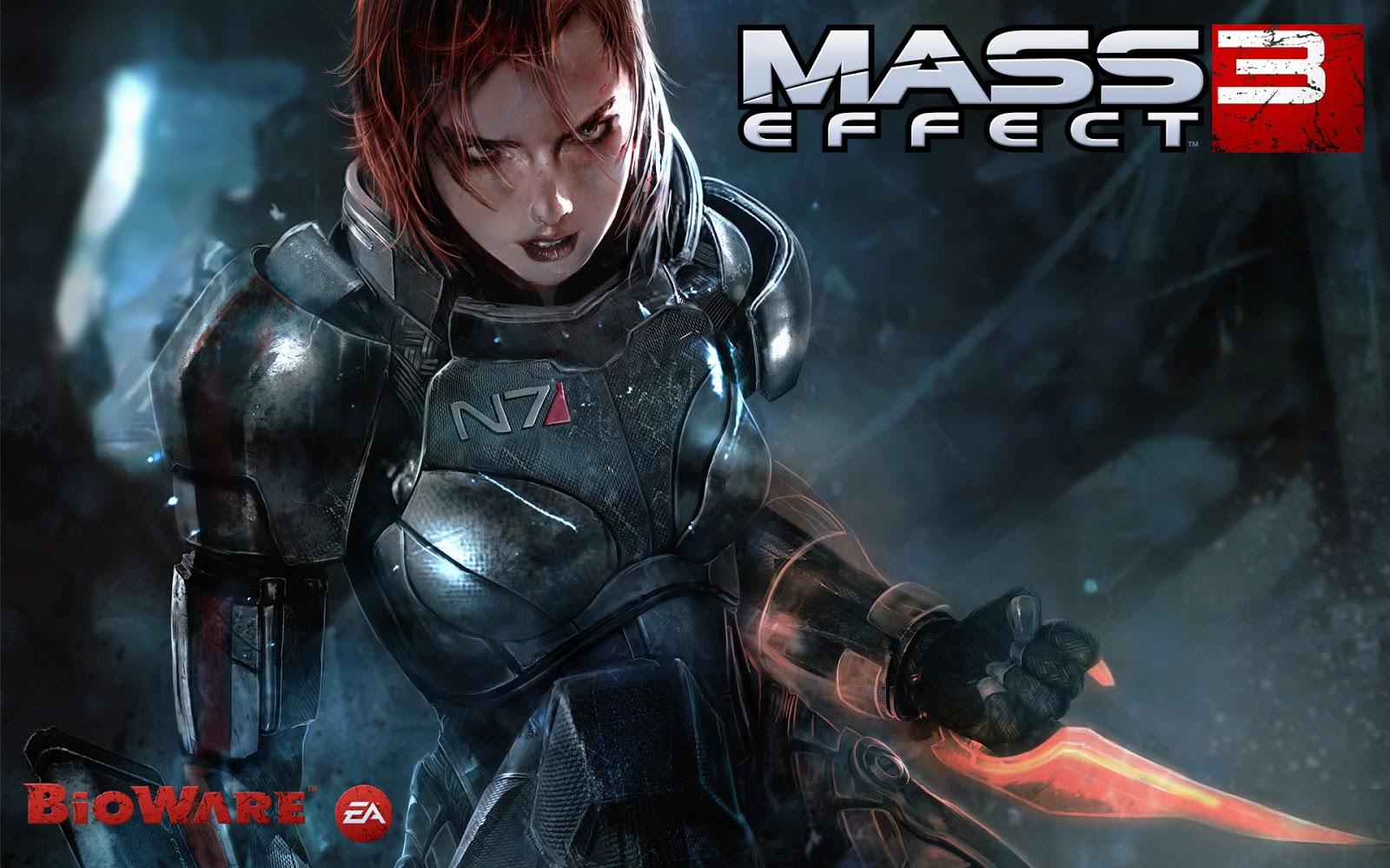 Female Shepard in Mass Effect 3 Wallpapers