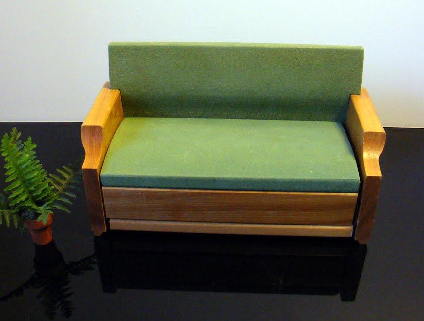 Strombecker Mid century Modern Doll Furniture. The Garage Sale Archeologist  Strombecker Mid century Modern Doll