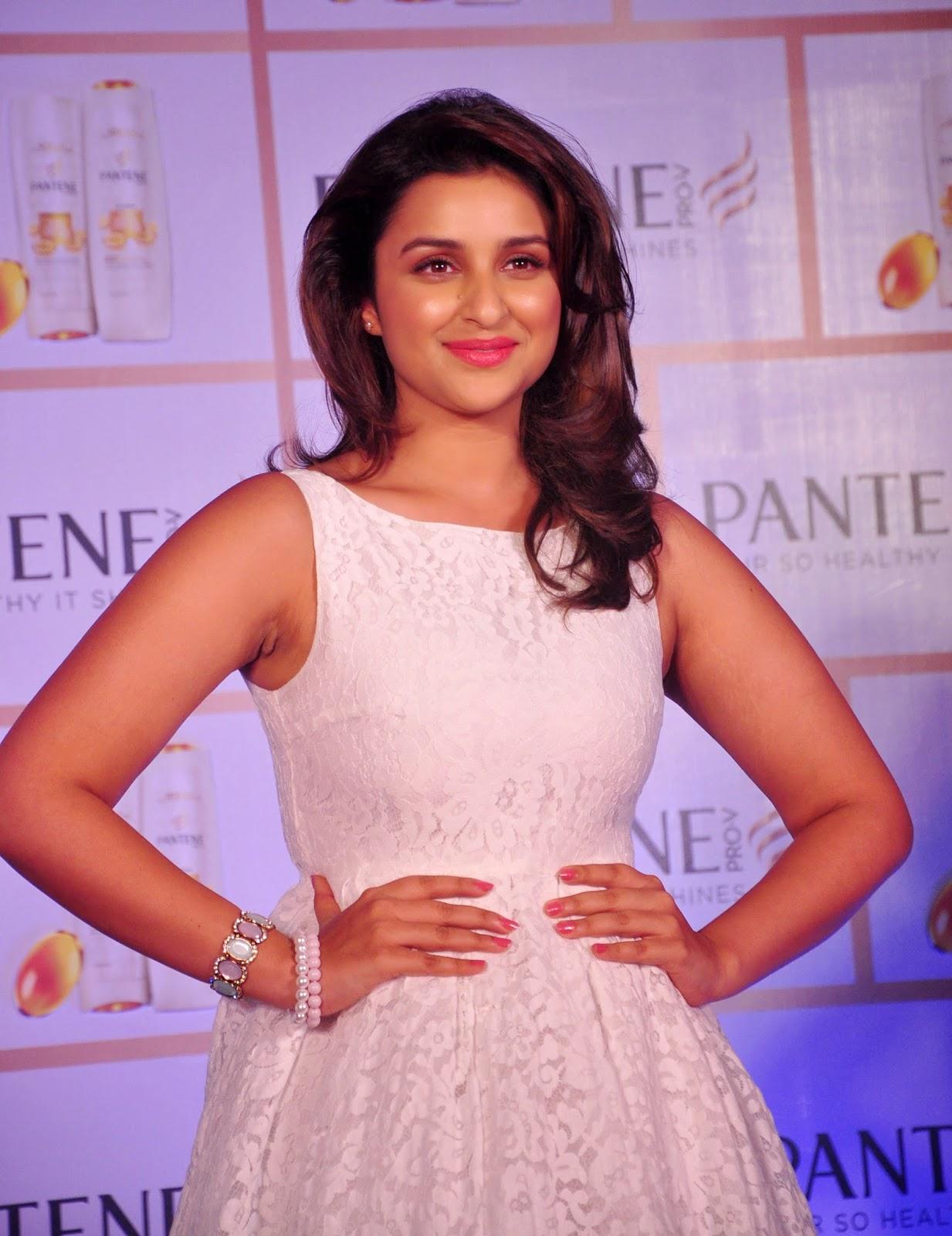 Parineeti Chopra Looks Sexy In White Dress At Pantene Proof Over Promises Campaign Launch In Mumbai