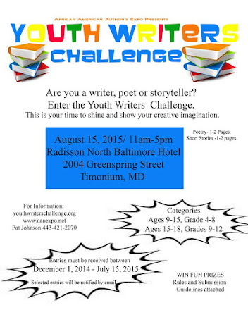2015 Youth Writer's Challenge - Guidelines