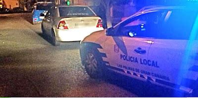 taxista Las palmas quintuplica la tasa de alcoholemia