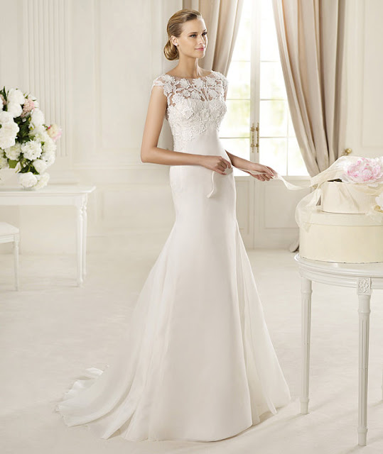 lace wedding dresses 2013 Pronovias