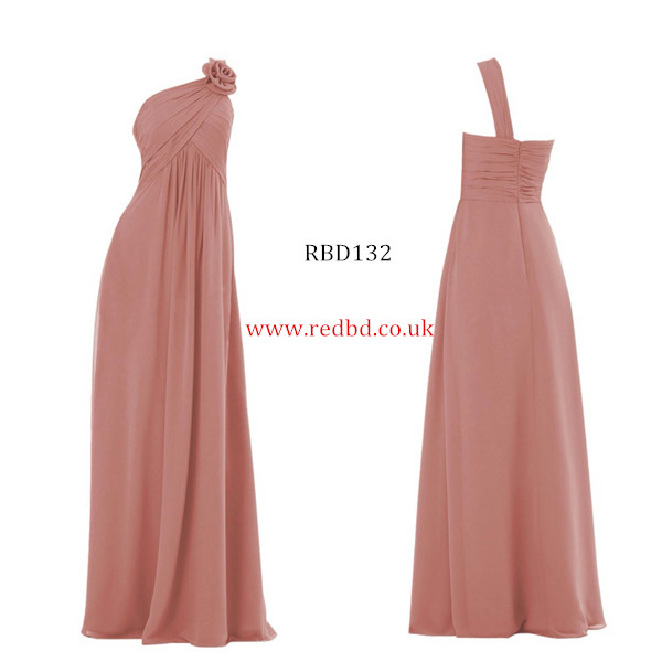 RedBD One Shoulder Maternity Bridesmaid Dress