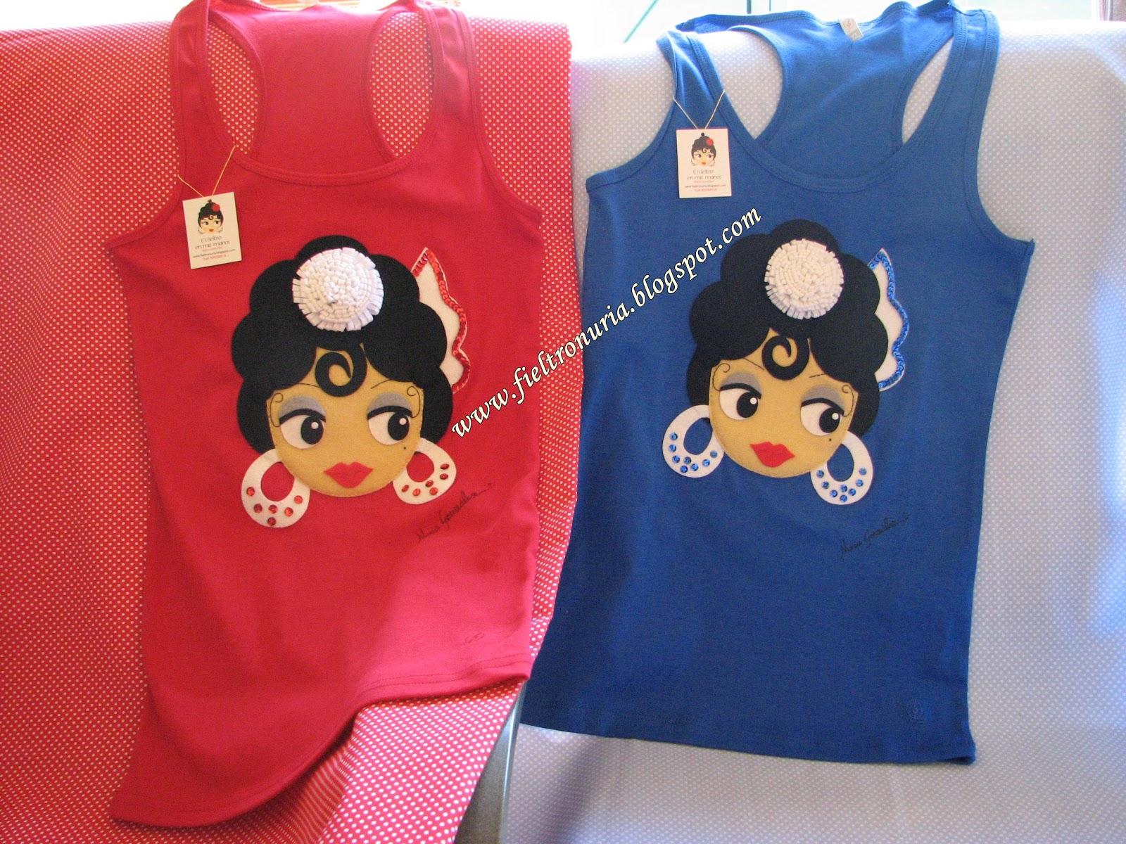 Camisetas De Fieltro De Mi Flamenca Lola