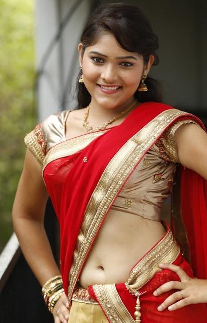 haritha in saree