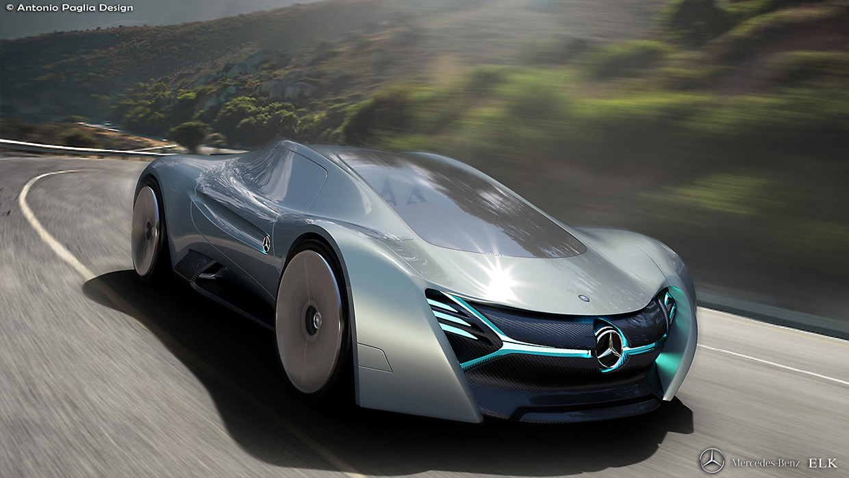 Mercedes benz elk fits the future ev supercar bill carscoops for Mercedes benz cars pictures