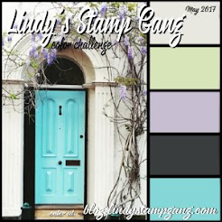 Lindy`s Stamp Gang Colourchallenge