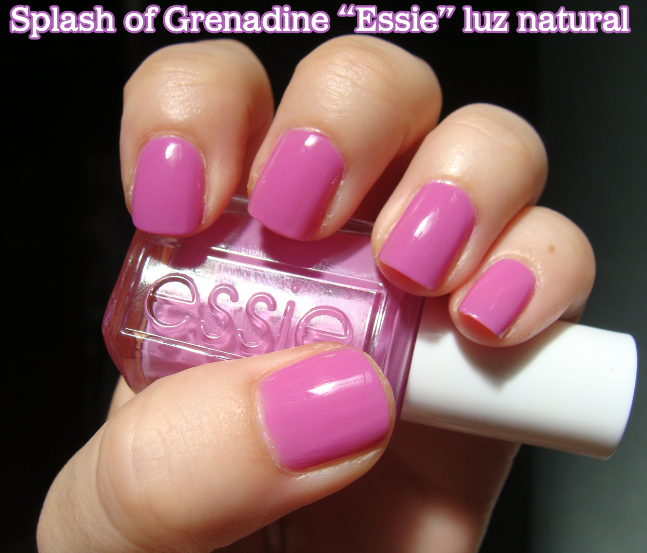 Esmaltes de Julie: Splash of Grenadine de Essie