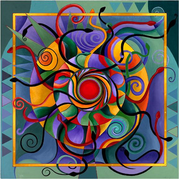 Zaragoza en danza - Mandalas en colores ...