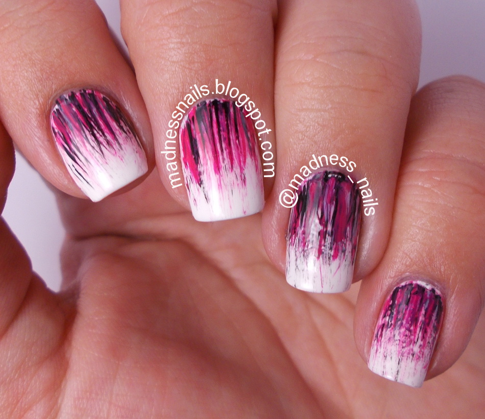 Madness Nails Ppsanailchallenge Pink Aka Fan Brush All The Nails