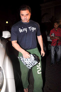 sohail khan-'Ek Tha Tiger' Special screening at Ketnav