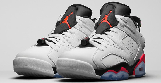 outlet store 2d60b 28916 Air Jordan 6 Retro Low White Infrared 23-Black Release Reminder