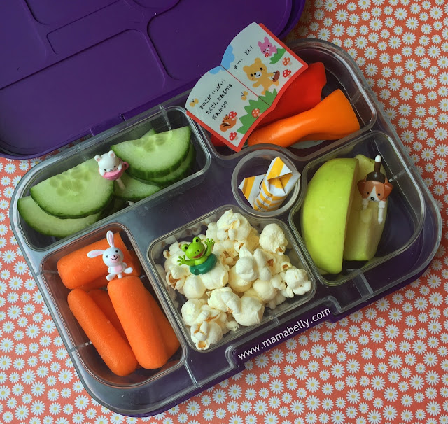 Easy School Lunches in Yumboxes - mamabelly.com