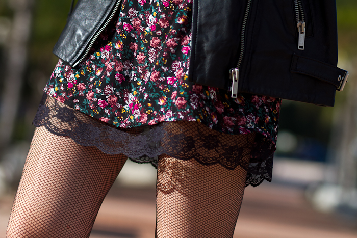 Lace and FishNet Tights by italian brand ORI