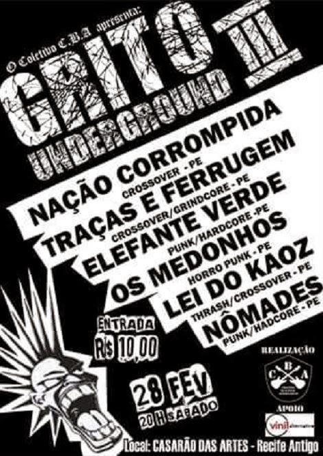 28-02-2015 - GRITO UNDERGROUND III - Recife - PE