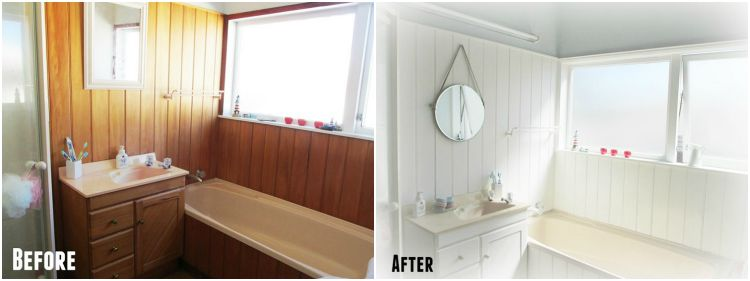 My Bathroom makeover - before and after