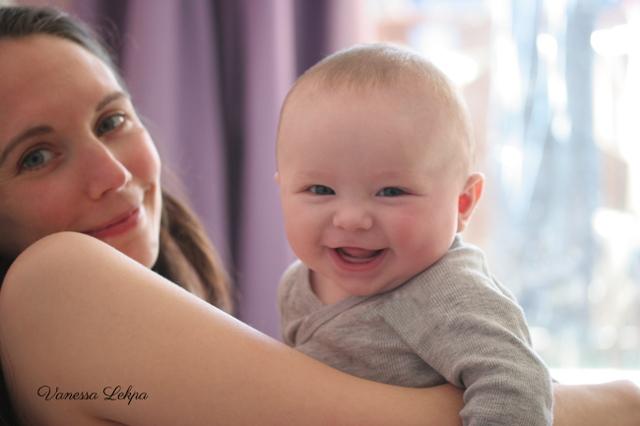 Vanessa Lekpa : blog maternité