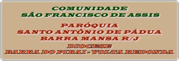 .COMUNIDADE SÃO FRANCISCO DE ASSIS