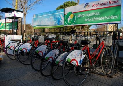 bike-sharing Tirana