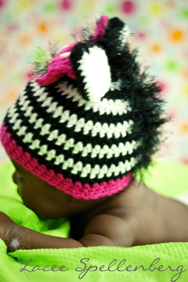 Crochet Baby Zebra Hat Pattern : Crochet Dreamz: Zebra Beanie Crochet Pattern for Boys or ...