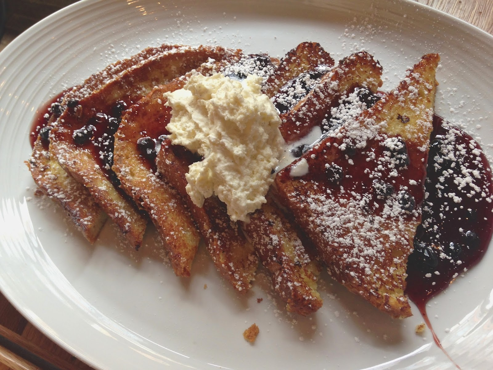 Cinnamon French Toast with Vermont Maple Syrup