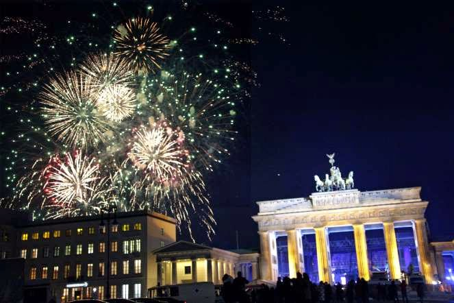 Kembang api BERLIN