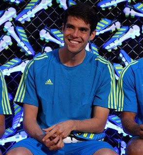 Kaka presented the new Adidas Predator