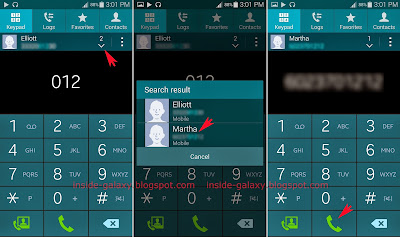 how to make numbers bigger on samsu galaxy s5