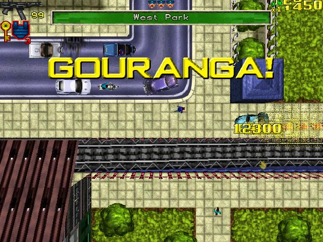 Grand Theft Auto Gouranga!