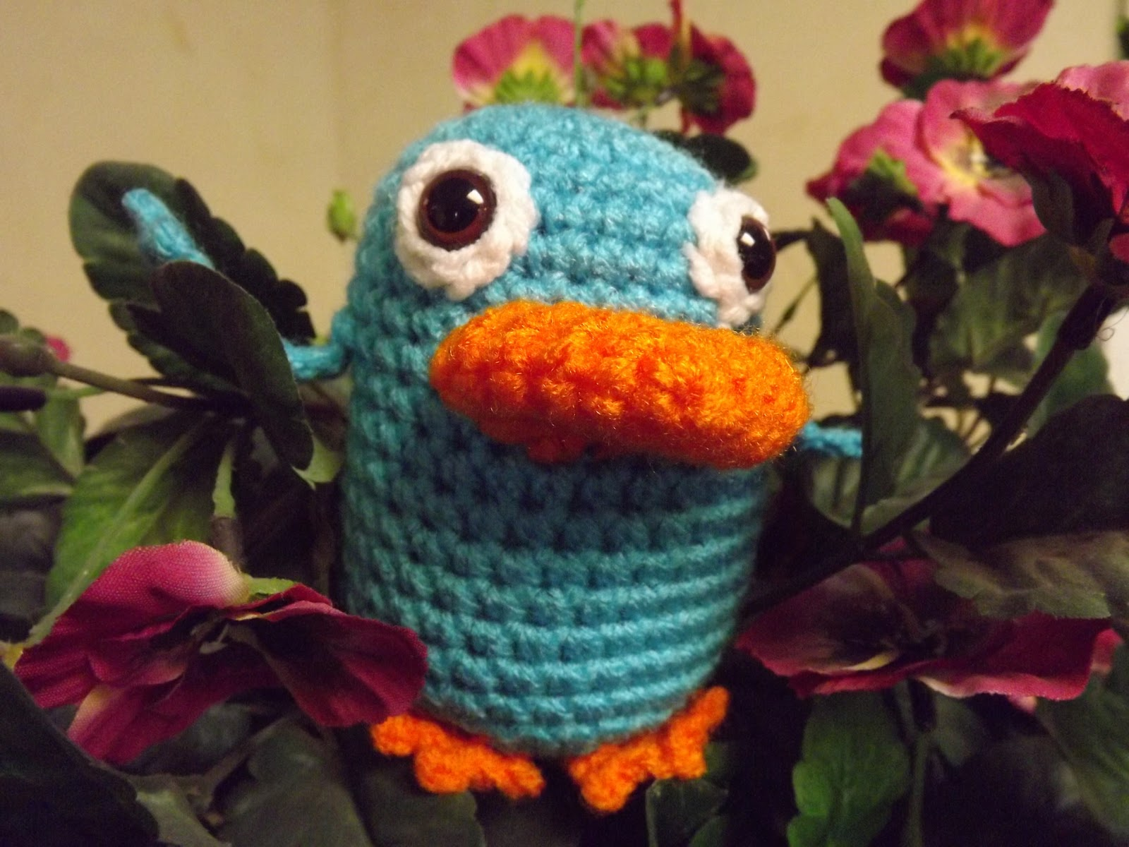 2000 Free Amigurumi Patterns Perry The Platypus Free Crochet Pattern